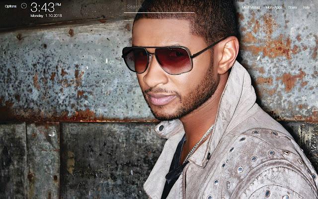 Usher Wallpapers FullHD New Tab