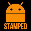 Stamped Orange Icons