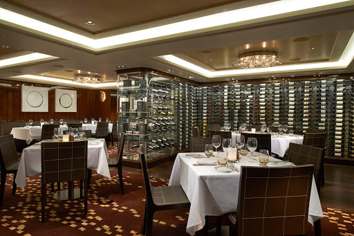 Norwegian-Escape-Taste-private-room - The Private Room at Taste on Norwegian Escape can be tailored for your next exclusive social occasion or business function.