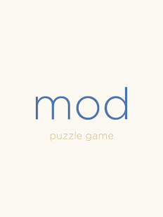 mod puzzle game- screenshot thumbnail