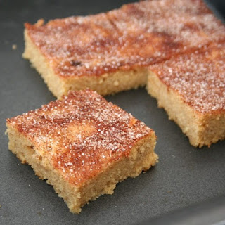 Snickerdoodle Blondies (Low Carb and Gluten-Free) Recipe