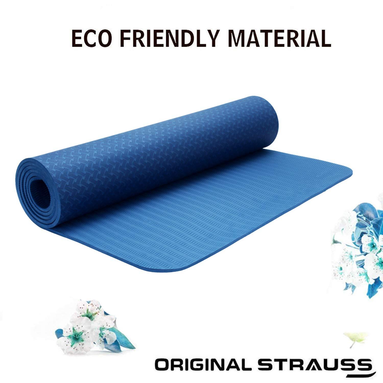 Strauss TPE Eco-Friendly Yoga Mat