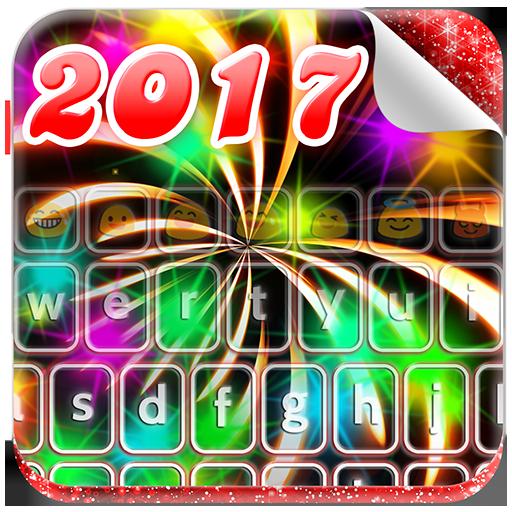 Happy New Year 2017 Keyboard