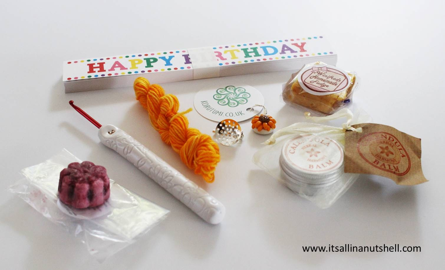 koru tumi birthday box october 2016