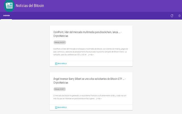 Noticias del Bitcoin