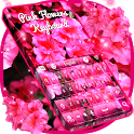 Pink Flowers Keyboard icon