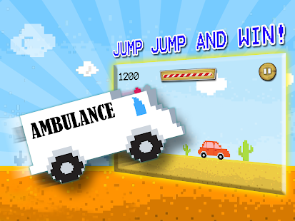 Jumpy Ambulance Racing Driving- screenshot thumbnail