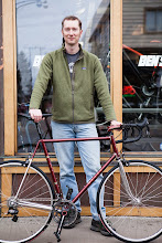 Photo: The builder, the bike.