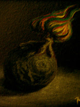 "Photo: ""Tree ball"" (Pastel on cardboard)"