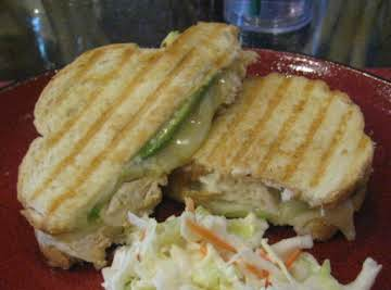 Roasted Chicken Panini
