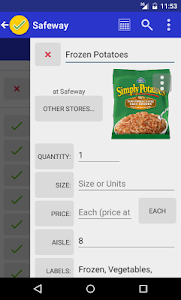 Grocery List - rShopping screenshot 2