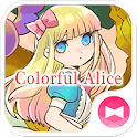 Fondos e iconos Colorful Alice icon