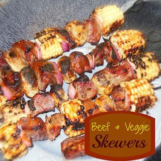 Steak and Veggie Skewers – Easy Outdoor Grilling