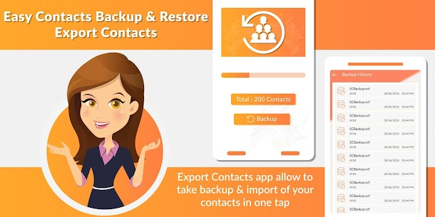 Easy Contacts Backup & Restore – Export Contacts App Download For Android 1
