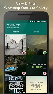 StatusSaver for Whatsapp - náhled