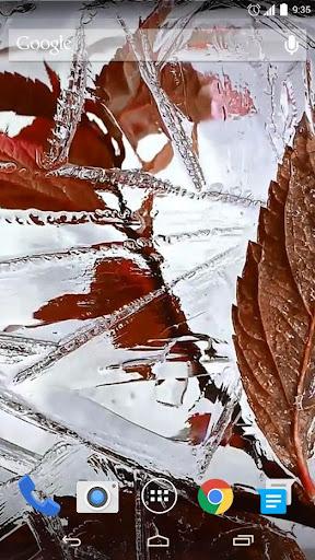 Freezing Ice Live Wallpaper
