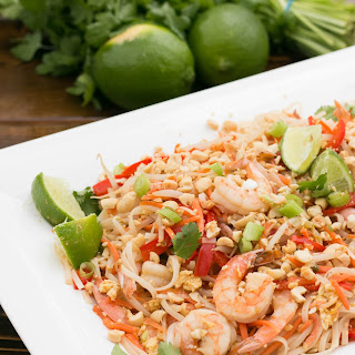 Shrimp Pad Thai Noodles Recipe