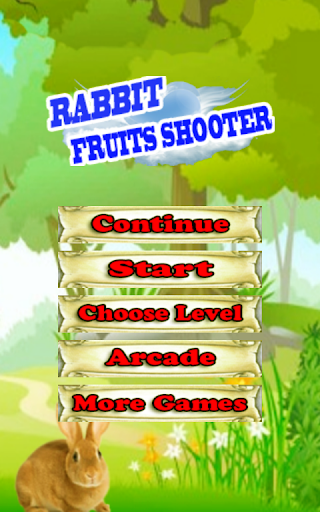 Rabbit Fruits Shooter