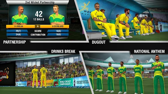 World Cricket Championship 2 MOD APK 2.9.2 5