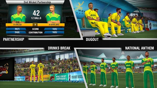 ApkMod1.Com World Cricket Championship 2 APK v2.8.3.1 + Mod (Money) + DATA for Android Android Game Sport