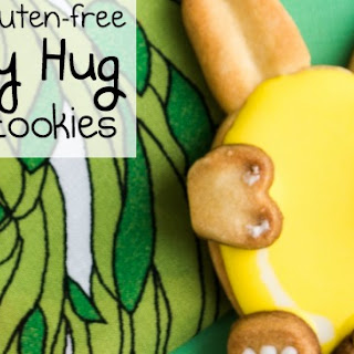 Vegan & Gluten-Free Bunny Sugar Cookies.