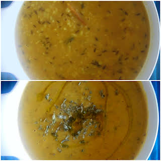 Moong Dhal (Indian – Style Yellow Split Mung Beans).