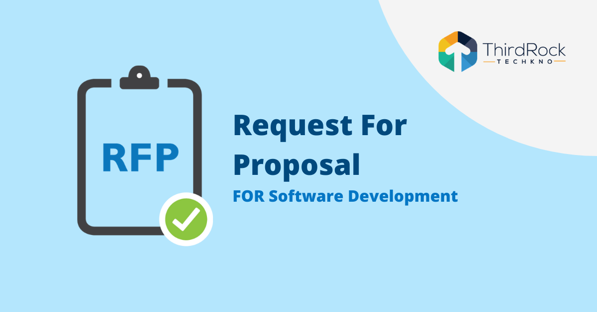 Request for Proposal for software development