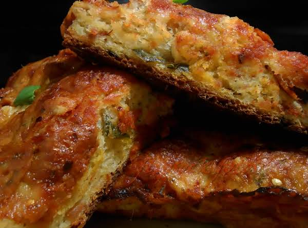 Focaccia inside out pizza bread recipe just a pinch recipes focaccia inside out pizza bread recipe forumfinder Image collections