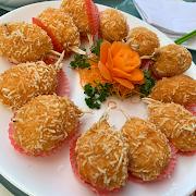 A7. Fried Shrimp Stuffed Crab Claw (Each) 百花釀蟹鉗 一隻