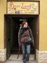 Photo: Po kilkugodzinnej podróży postanawiamy stanąć na nogi w rewelacyjnej knajpie o wdzięcznej nazwie Beer Land :D