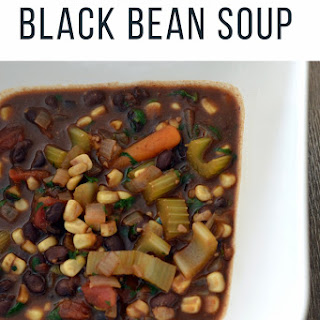 Instant Pot Vegan Black Bean Soup Recipe