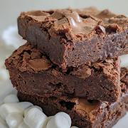Chocolate & Marshmallow Brownie