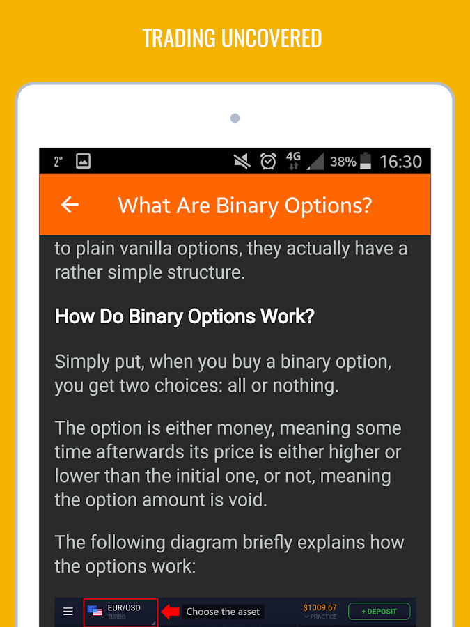 The Truth About Binary Options- screenshot