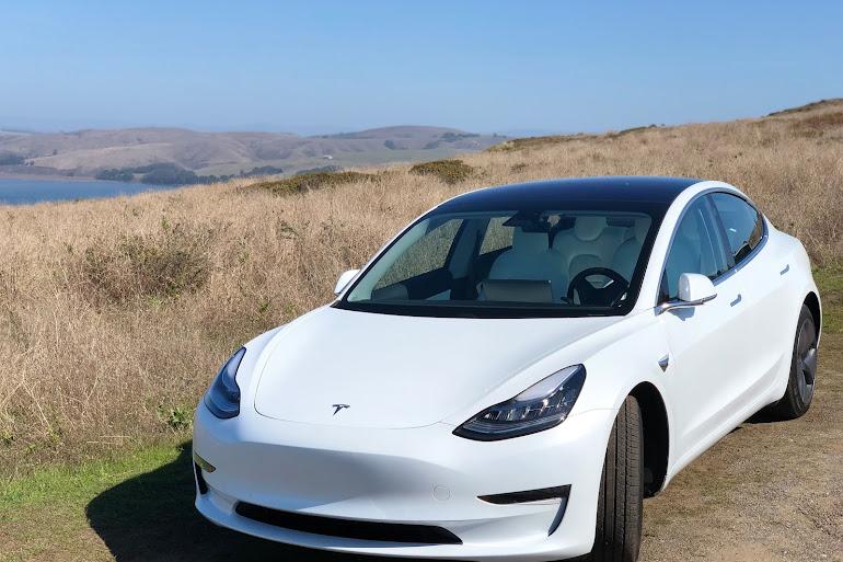 Rent a White Tesla Model 3 in San Francisco - Getaround