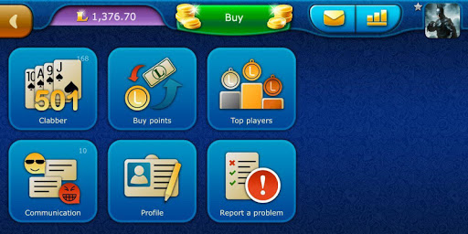 Clabber LiveGames - free online card game screenshots 5