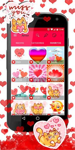 💕😍 WAStickerApps love stickers for whatsapp screenshot 4