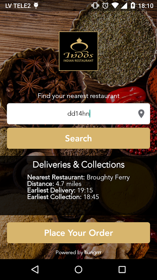 Indos Restaurant Dundee- screenshot
