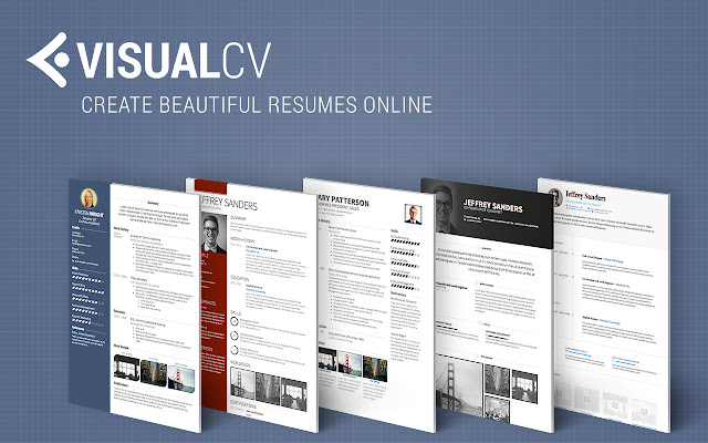 visual cv resume builder chrome web store