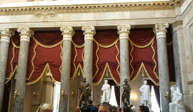Photo: more statues in the National Statuary Hall - http://en.wikipedia.org/wiki/National_Statuary_Hall