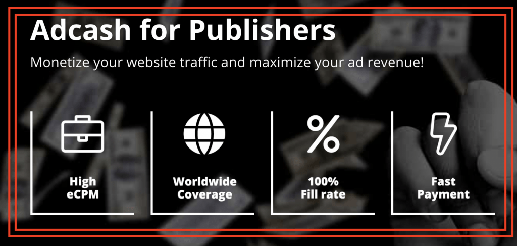 AdCash for Publishers