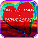 Frases de Amor y Aniversario icon