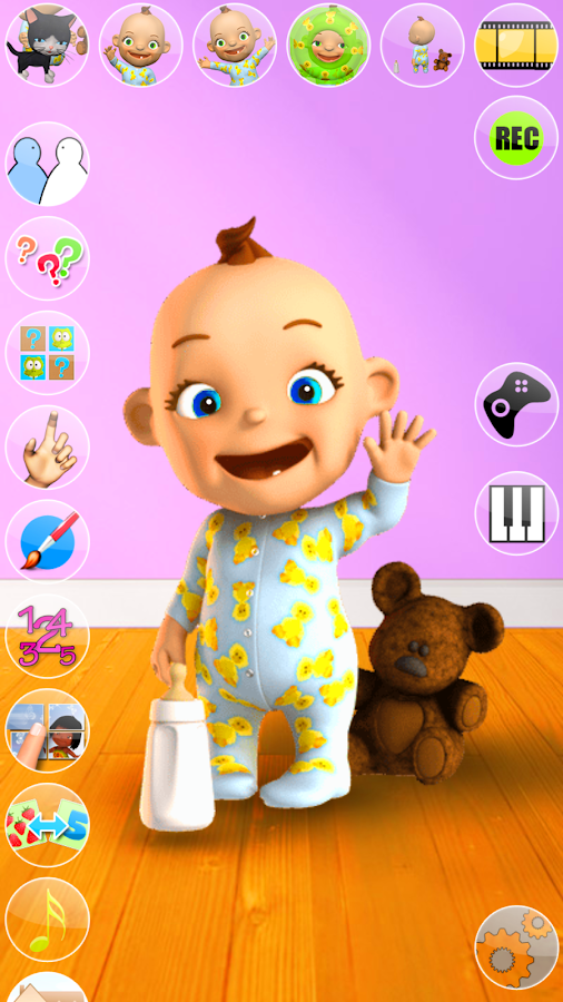 Talking Babsy Baby: Baby Games- screenshot