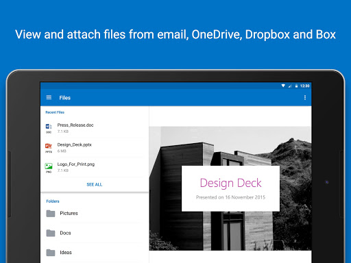 Microsoft Outlook app (apk) free download for Android/PC/Windows screenshot