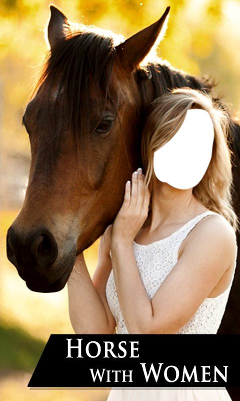 Horse With Women Suit- screenshot