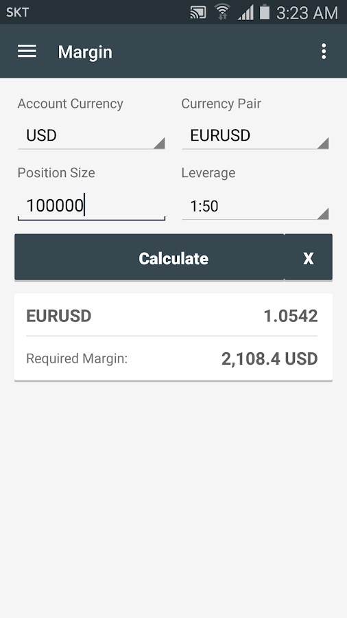 Forex position size calculator app