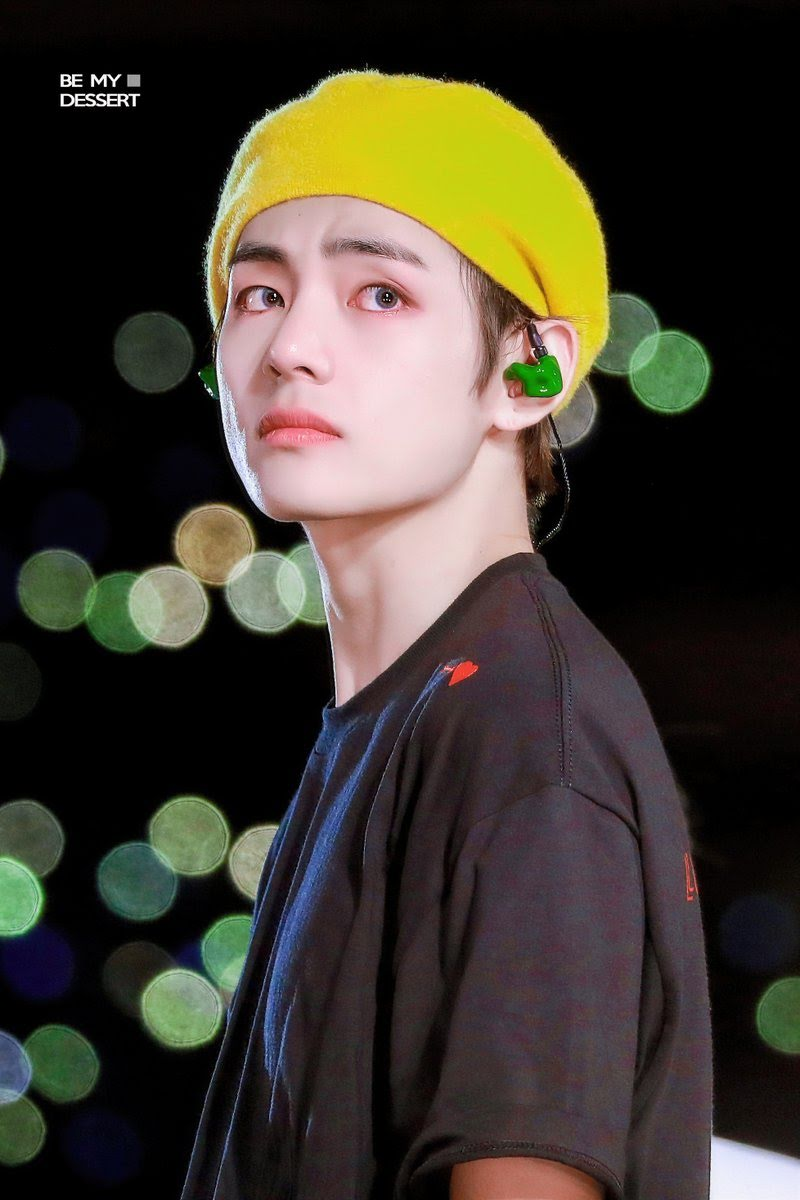 bts v yellow