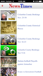 The Columbia County News-Times- screenshot thumbnail