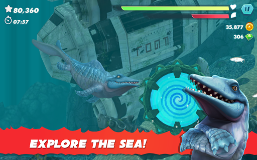 Hungry Shark Evolution apktram screenshots 10