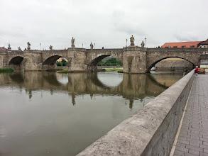 Photo: Würzburg Alte Brücke , Weg zur Altstadt