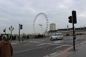 Photo: London Eye vista desde a Westminster Brigde